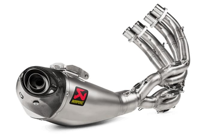 アクラポビッチ JMCAレーシングライン CB650R/CBR650R用 フルエキゾーストマフラー