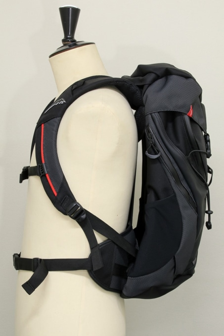KUSHITANI K-3587 BACK PACK サイドビュー