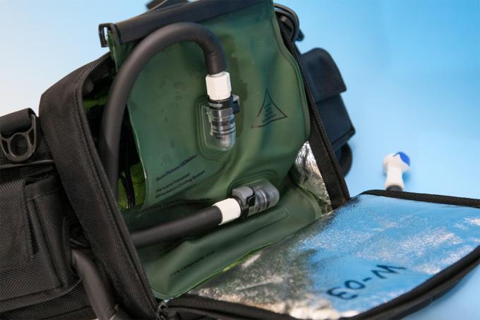 キノクニエンタープライズ ICE FLOWのバッグ内部