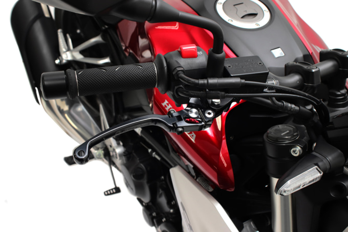 ACTIVE STFブレーキレバー HONDA CB650R 装着イメージ