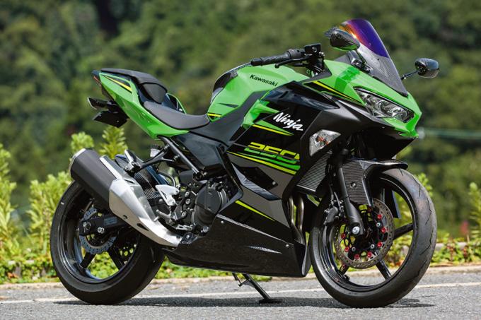 マジカルレーシング ストリートボディワーク for Ninja250 デモ車