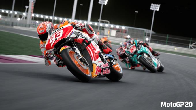 MotoGP20 ゲーム画面