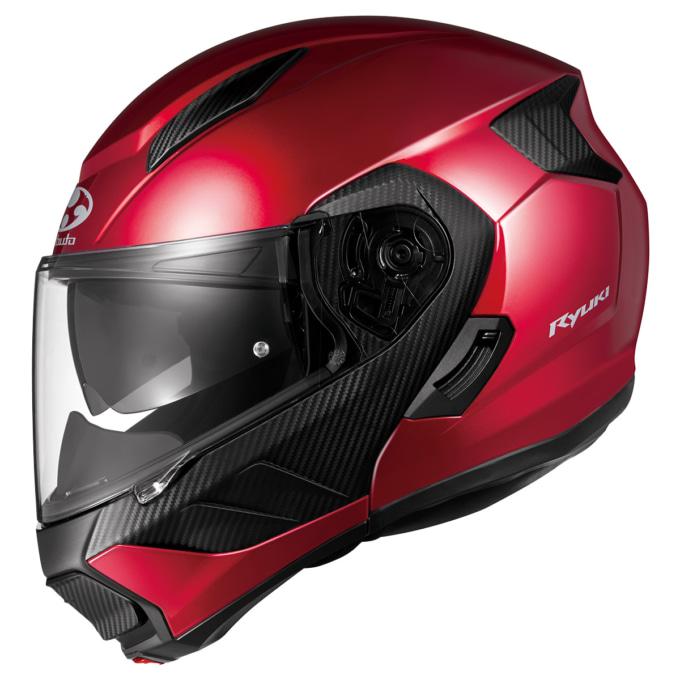 OGKカブト システムヘルメット RYUKI サイドビュー
