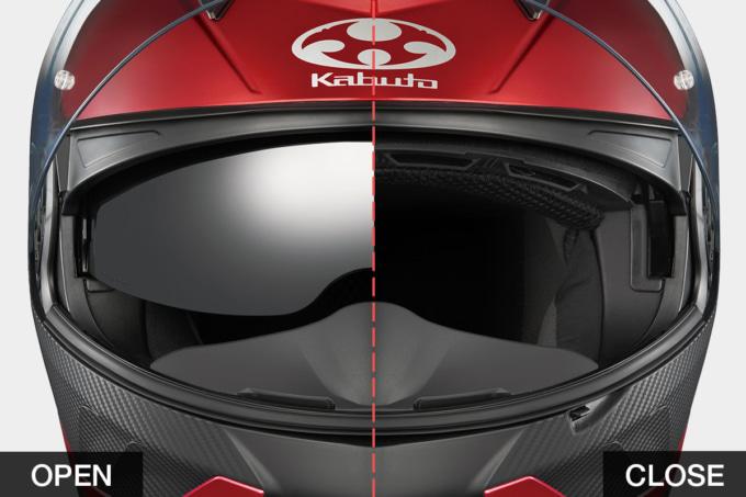 OGKカブト システムヘルメット RYUKI インナーサンシェード