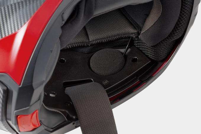 OGKカブト システムヘルメット RYUKI スピーカー取付スペース