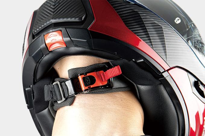 OGKカブト システムヘルメット RYUKI マイクロラチェットバックル ウィンドシャッター