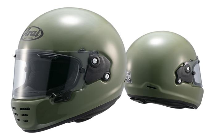 アライヘルメット RAPIDE-NEO(ラパイドネオ)ナンカイオリジナルカラー モスグリーン