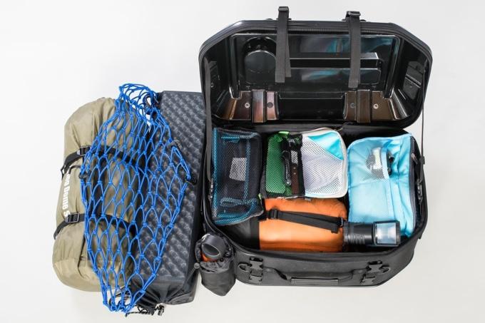 TANAX キャンプテーブルシートバッグ パッキング例