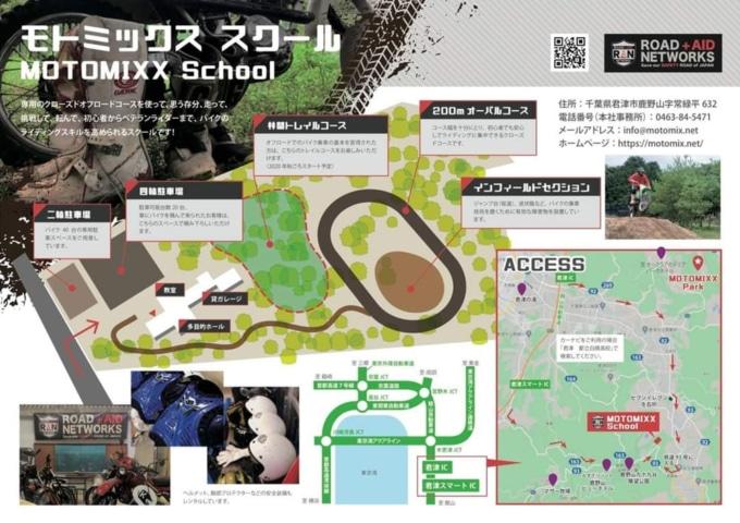 MOTO MIXX SCHOOL コース図