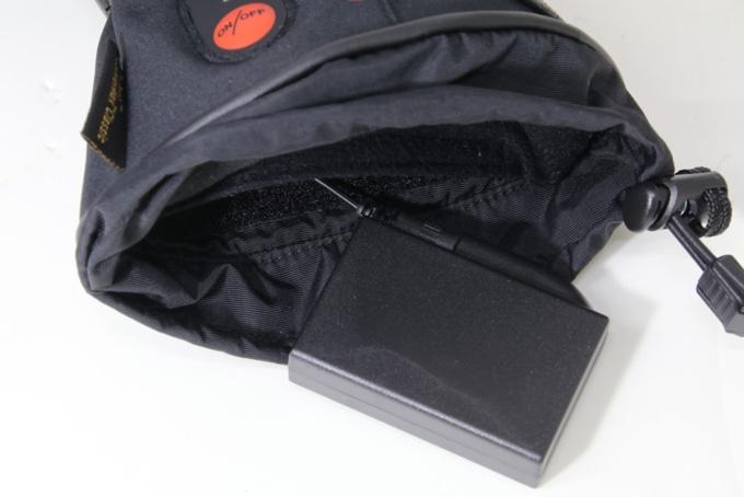 ROM 電熱グローブ「ゼロスグラブ ヒート」ポケット
