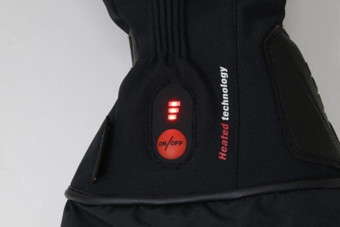 ROM 電熱グローブ「ゼロスグラブ ヒート」電源ボタン3