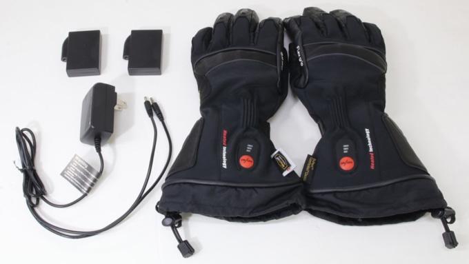 ROM 電熱グローブ「ゼロスグラブ ヒート」付属品