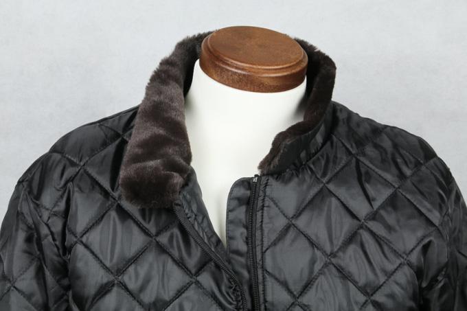 MOTORHEAD RIDERS M-1G ロングジャケット 着脱式防寒インナーの首元