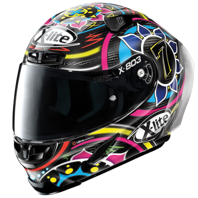 X-lite X-803RS ULTRA CARBON デイビス カーボン/23