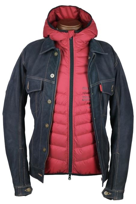 SHINICHIRO ARAKAWA H08 nの上からジャケットを着た状態
