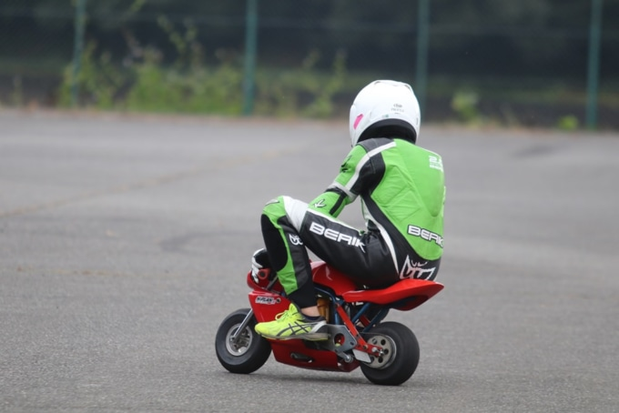 Taira Promote Racingサーキット走行会(ポケバイの試乗体験)