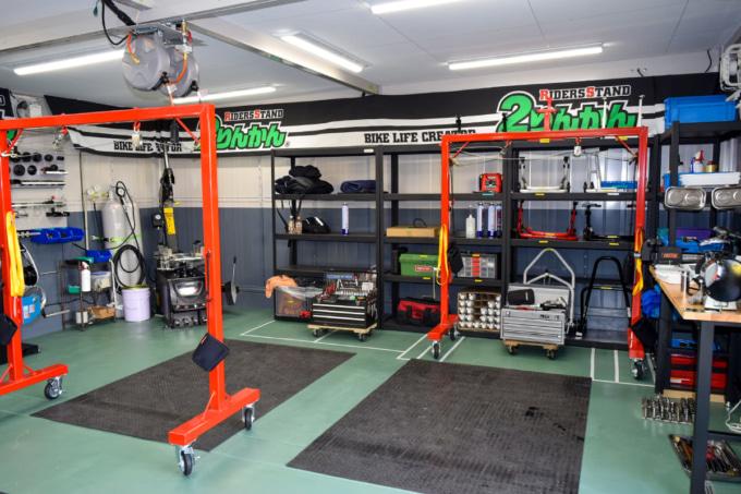 高松2りんかん 整備作業スペース