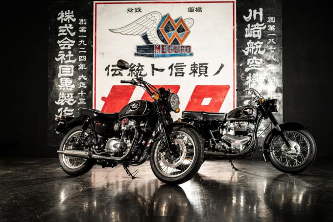 2021年モデル MEGURO K3とメグロ スタミナK2