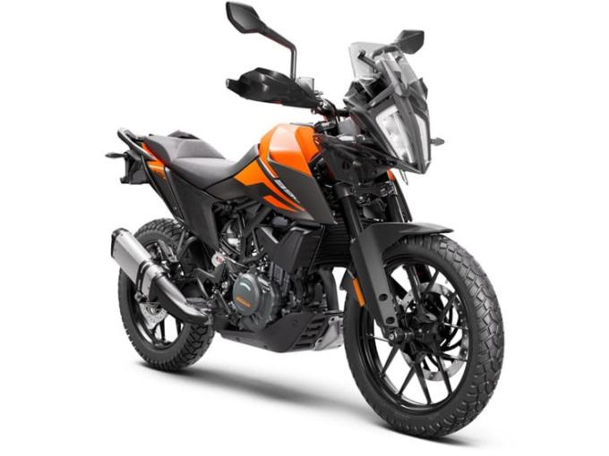 KTM 390ADVENTURE 2021年モデル オレンジ