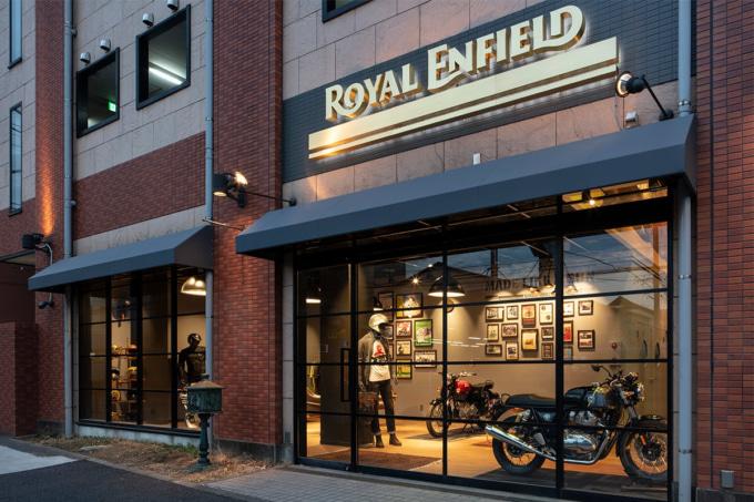 Royal Enfield Tokyo Show Room 外観