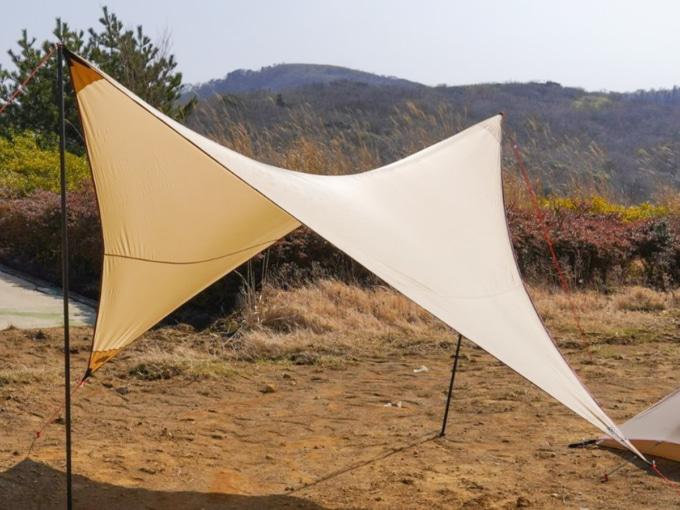 MOSS TENTS ×バイカーズパラダイス コラボモデル PARAWING 12ft.タープ