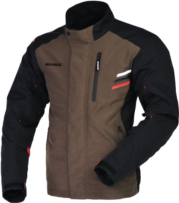 NANKAI SDW-4137 アーバンライドジャケット ブラウン×ブラック