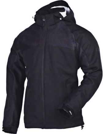 NANKAI SDW-4138 エアフィールメッシュパーカジャケット ブラック