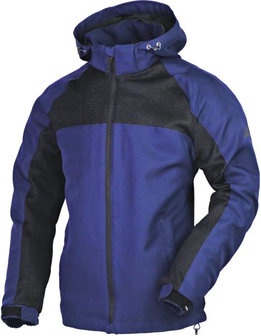 NANKAI SDW-4138 エアフィールメッシュパーカジャケット ネイビー