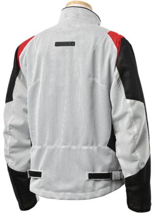 アーバニズム UNJ-089 ライドメッシュジャケット 背面