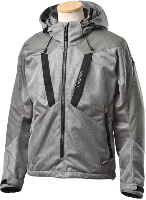 アーバニズム UNJ-094 メッシュベントジャケット グレー