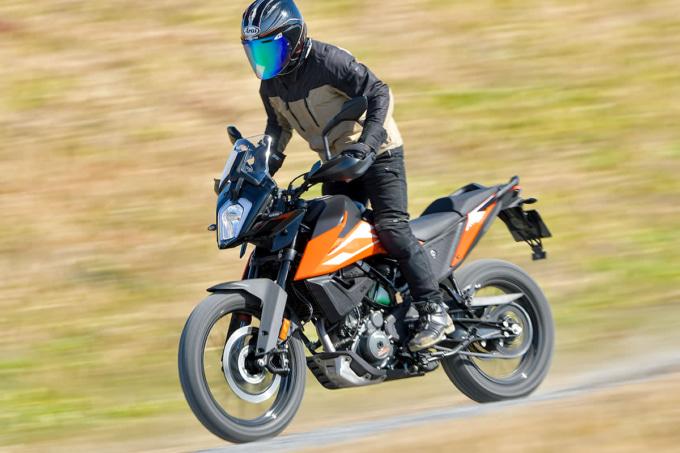 KTM 250ADVENTURE(2021年モデル)ダート走行