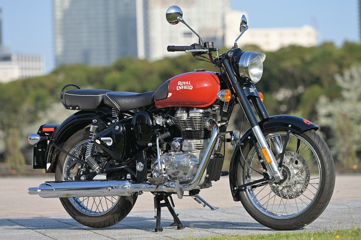 ROYAL ENFIELD CLASSIC500 サイド