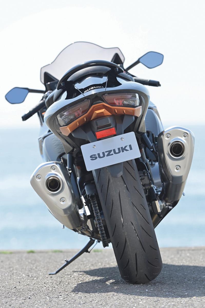 SUZUKI Hayabusa 後ろ