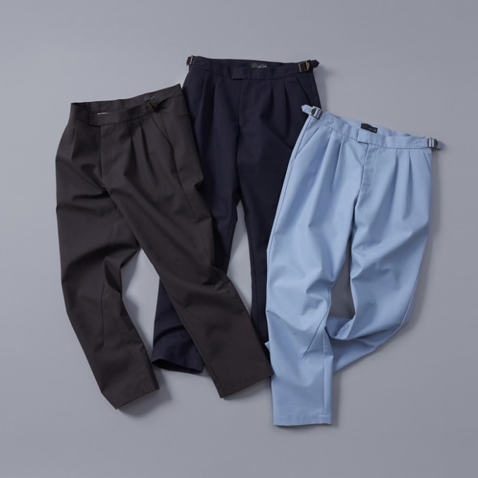 gwmaverick 2 Pleated Tapered Pants