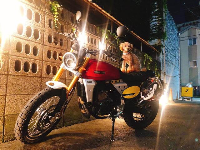 「バイク女子部学園」ミーティング2021春(ファンティック イメージ)