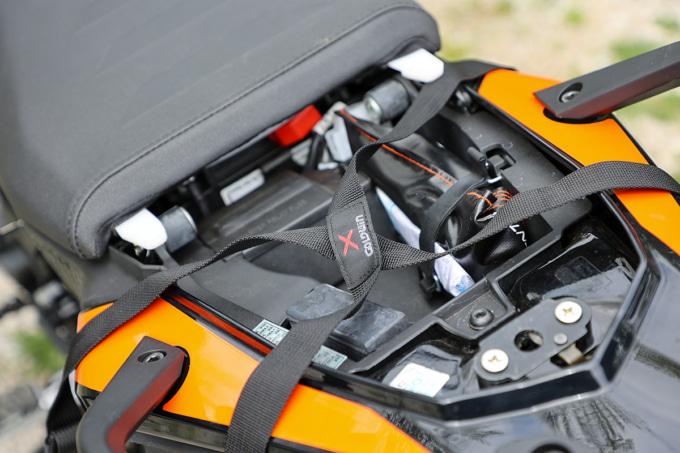 ゴールドウインモーターサイクル ツーリングリアバッグ Xベルト
