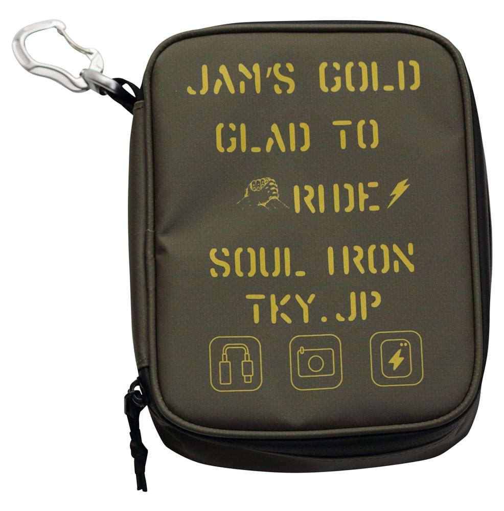 JAM'S GOLD BAIL Waterproof ガジェットバッグ