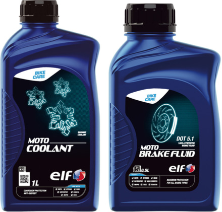 ELF ブレーキフルードやクーラント液も開発