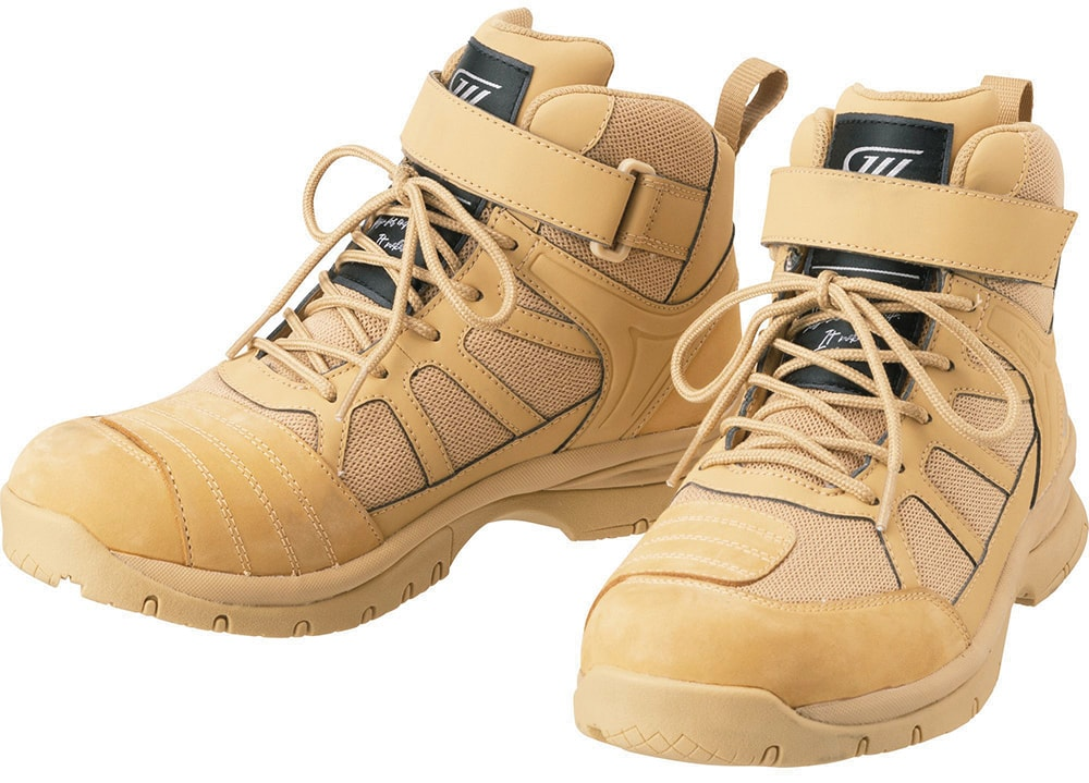 GOLDWIN MOTORCYCLE GSM1057 G VECTOR RIDING SHOES キャメル(CA)