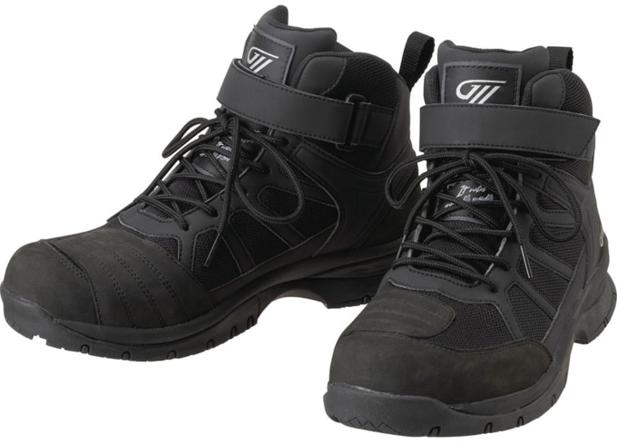 GOLDWIN MOTORCYCLE GSM1057 G VECTOR RIDING SHOES ブラック(K)