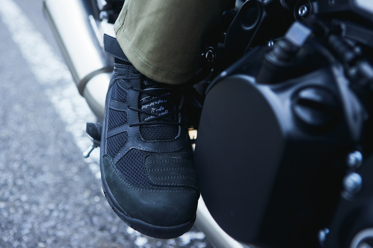 GOLDWIN MOTORCYCLE GSM1057 G VECTOR RIDING SHOES 使用イメージ