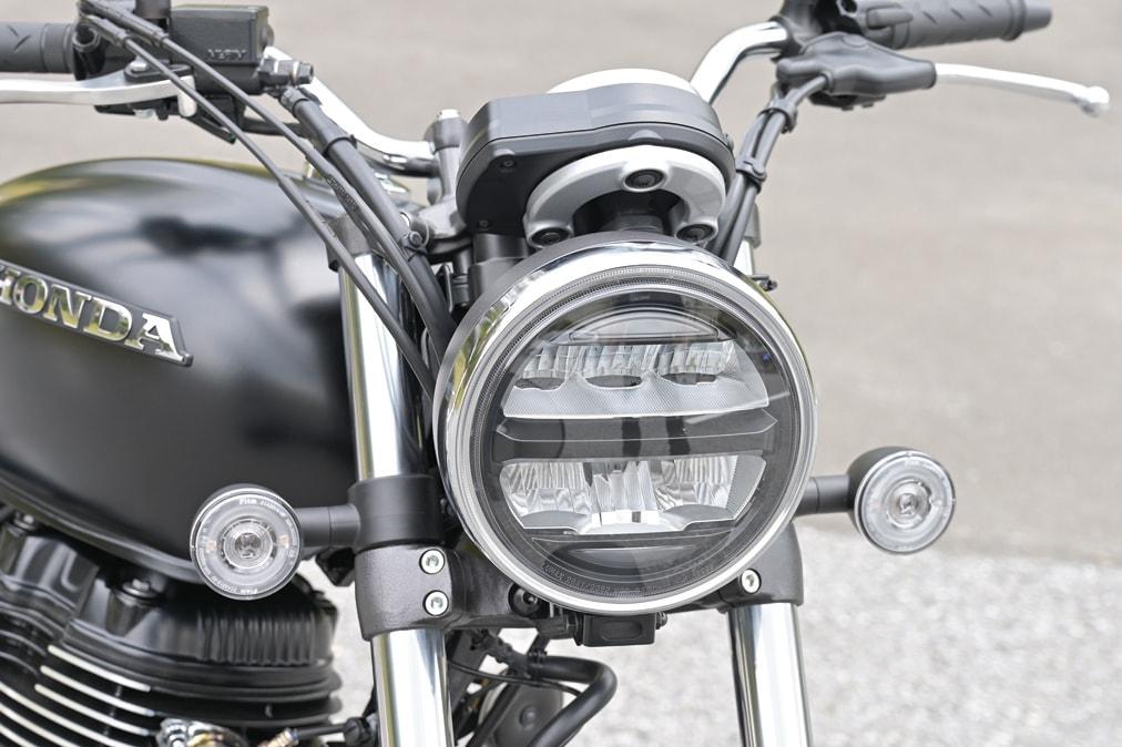 HONDA GB350 ヘッドライト