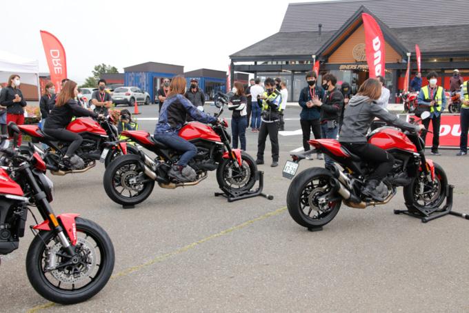 ライディングスキル向上プログラム、Ducati Riding Experienceが日本初開催!