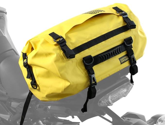 ドッペルギャンガーの防水ターポリンバッグ・ターポリンツーリングドラムバッグ