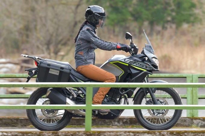 カワサキ VERSYS-X 250 TOURER 走行