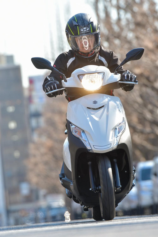 SUZUKI ADDRESS125 走行