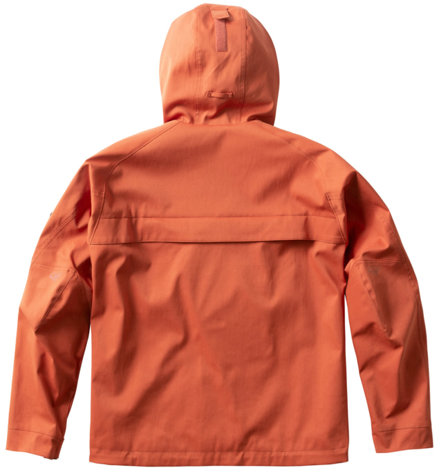 ゴールドウインモーターサイクルGSM22153 GWMロードブックジャケット(ダークオレンジ 背面)